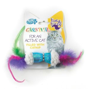 Pet Brands - Catnip Sheep & Feather - играчка с вълна и пера, с Catnip (коча трева)