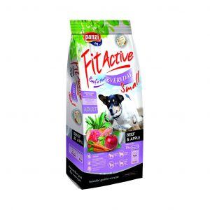 Fit Active Everyday Small Beef & Fish - пълноценна суха храна за кучета от дребни породи - 4 кг