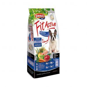 Fit Active Hypoallergenic Fish & Apple Small - хипоалергенна суха храна за кучета от дребни породи - 4 кг