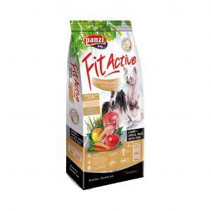 Fit Active Hypoallergenic Maintenance Light/Senior Lamb & Apple - хипоалергенна суха храна суха храна за кучета в напреднала възраст и кучета с наднормено тегло - 4 кг