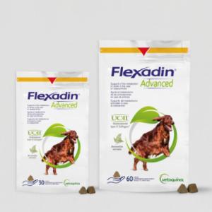 Vetoquinol - Flexadin Advanced - колаген тип II плюс всички съставки на Флексадин плюс, при остеоартритни заболявания 60 табл.