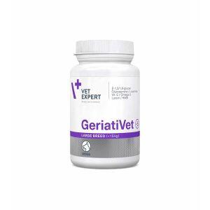 Vetexpert - GeriatiVet Dog Large - цялостна грижа за възрастните кучета, за големи породи 45 табл.