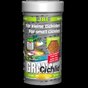 JBL Grana Cichlid 250 мл - Премиум храна за месоядни цихлиди - гранули