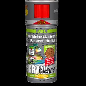 JBL Grana Cichlid CLICK - Премиум храна за месоядни цихлиди с дозатор - гранули