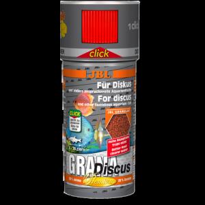 JBL Grana Discus CLICK 250 мл - Премиум  храна за дискуси с дозатор - гранули
