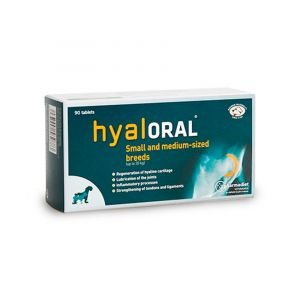 HYALORAL -  12 таб - таблетки за кучета с регенеративно действие спрямо хиалинния хрущял