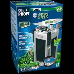 JBL CristalProfi e902 greenline - Енергоспестяващ външен филтър за аквариуми от 90л до 300 л или 80 до 120 см дължина