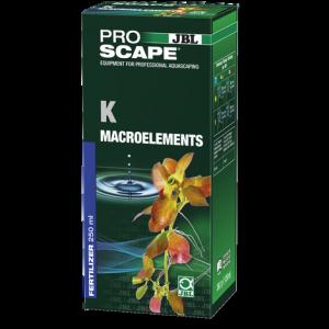 JBL ProScape K Macroelements 250 мл - калий под формата на разтворими във водата калиеви соли