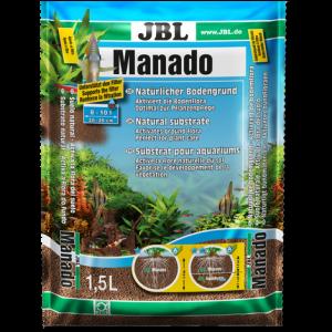 JBL Manado - натурален субстрат за филтрация на водата и подхранване растежа на растенията в аквариума