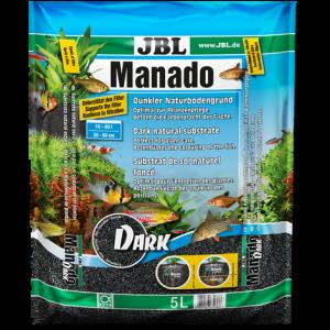 JBL Manado Dark - натурален субстрат с тъмен цвят за филтрация на водата и подхранване растежа на растенията в аквариума
