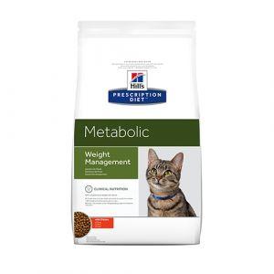 Hill's Prescription Diet Metabolic / Weight Management - за намаляване на наднормено тегло при котки