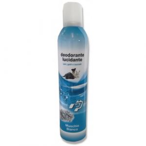 Professional Pets Deodorante MUSCHIO BIANCO - дезодорант с полиращ ефект за кучета и котки Бял мускус - 400 мл