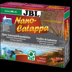 JBL Nano Catappa 10 бр. -  Листа от тропически бадем (Terminalia catappa) Естествен стабилизатор на водата.