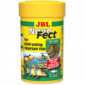JBL NovoFect 100 мл - храна за растителноядни риби - таблетки