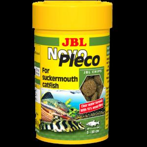 JBL NovoPleco - Храна за сомчета, съдържаща дъвесина - таблетки