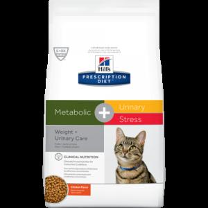 Hill's Prescription Diet c/d Urinary Stress + Metabolic – за намаляване на наднормено тегло и профилактика на уринарния тракт при котки