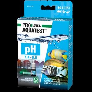 JBL PROAQUATEST pH 7.4-9.0 - Бърз тест за измерване на  pH от 7.4-9.0 в сладководни и соленоводни аквариуми и езера