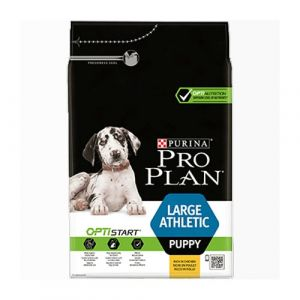 Pro Plan OPTISTART Large&Athletic Puppy - суха храна за кученца от едри породи 12 кг.