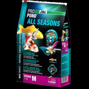 JBL ProPond All Seasons M - храна за средни по размер кои и езерни риби