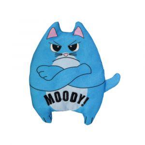 Kong Refillables Purrsonality Moody - играчка за котки с котешка трева - 10 см
