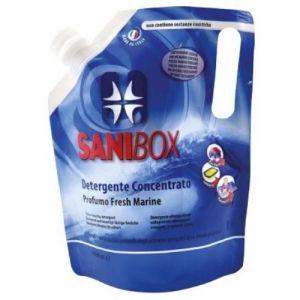 Professional Pets Sanibox  FRESH MARINE - концентрат, почистващ препарат с аромат на морски бриз - 1000 мл