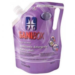 Professional Pets Sanibox LAVANDA - концентрат, почистващ препарат с аромат на лавандула - 1000 мл