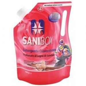 Professional Pets Sanibox LEGNO di SANDALO - концентрат, почистващ препарат с аромат на сандалово дърво - 1000 мл