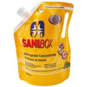Professional Pets Sanibox LIMONE - концентрат, почистващ препарат с аромат на лимон - 1000 мл