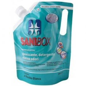 Professional Pets Sanibox MUSCHIO BIANCO - концентрат, почистващ препарат с аромат на бял мускус - 1000 мл