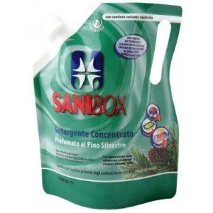 Professional Pets Sanibox PINO SILVESTRE - концентрат, почистващ препарат с аромат на бял бор - 1000 мл