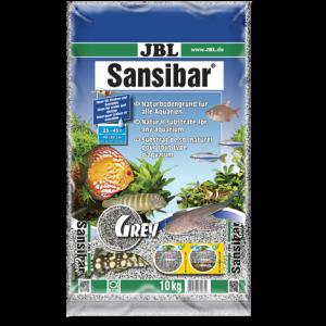 JBL Sansibar GRAY 10 кг - сив, фин субстрат за сладководни и соленоводни аквариуми и терариуми