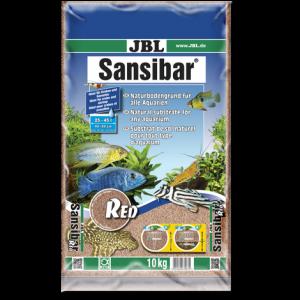 JBL Sansibar RED 10 кг - червен, фин субстрат за сладководни и соленоводни аквариуми и терариуми