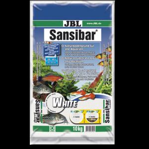 JBL Sansibar WHITE 10 кг - фин, бял субстрат за сладководни и соленоводни аквариуми и териариуми