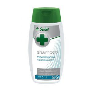 Dr. Seidel hypoallergenic shampoo - хипоалергенен шампоан, предназначен за кучета и котки с много чувствителна кожа, склонна към чести алергични прояви 220 мл.