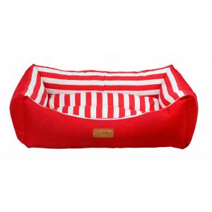 Dubex TARTE червено райе - Меко легло