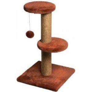DUBEX Скрачер стълб + 2 кръгa + топче 34 х 34 х 67 см