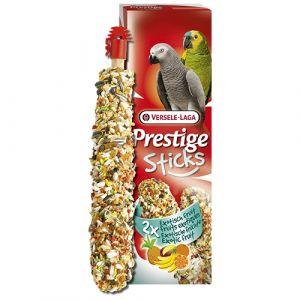 Versele-Laga Stick Parrots Exotic Fruit 2 бр х 70 гр - Стикове за големи папагали с екзотични плодове 140 гр