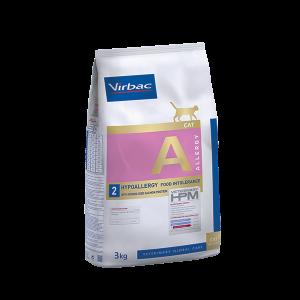 Virbac Hypoallergy - Диетична храна с хидролизиран протеин от сьомга за котки с хранителни алергии - 3 кг