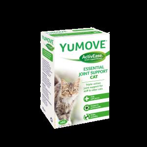 Lintbells YuMove Cat 60 таб. - овкусени таблетки за ставни проблеми (артрози) с екстракт от зеленоуста мида, магнезий и др. (за котки)