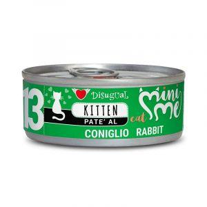 Disugual MINI ME KITTEN Rabbit - пълноценна храна за котенца до 1 година със заешко - 85 гр