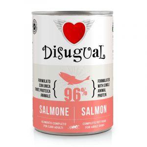 Disugual Salmon - пълноценна храна за кучета с един източник на животински протеин, със сьомга