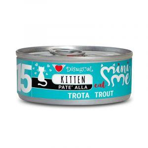 Disugual MINI ME KITTEN Trout - пълноценна храна за котенца до 1 година с пъстърва - 85 гр
