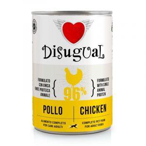 Disugual Chicken - пълноценна храна за кучета с един източник на животински протеин, с пилешко
