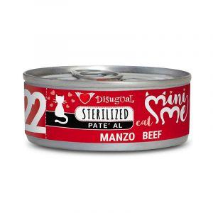 Disugual MINI ME STERILIZED Beef - пълноценна храна за кастрирани котки с говеждо - 85 гр