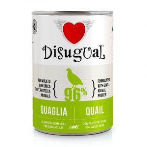 Disugual Quail - пълноценна храна за кучета с един източник на животински протеин, с пъдпъдък