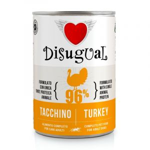 Disugual Turkey - пълноценна храна за кучета с един източник на животински протеин, с пуешко